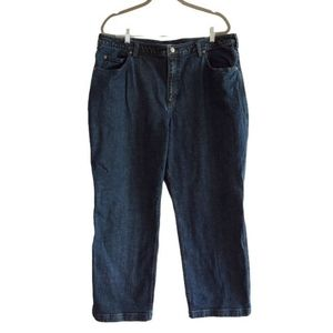 DULUTH TRADING Co. Womens Stretch Blue Denim Jeans